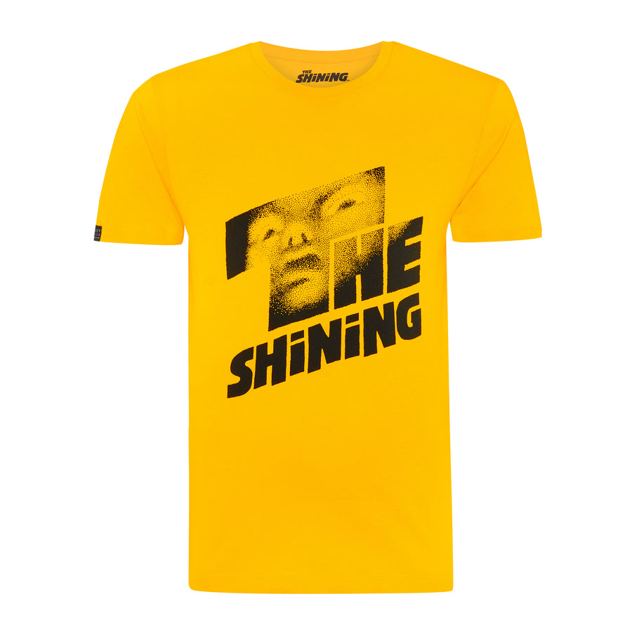 The Shining, Yellow, Movie Poster T-shirt, with Stanley Kubrick Collector's Box