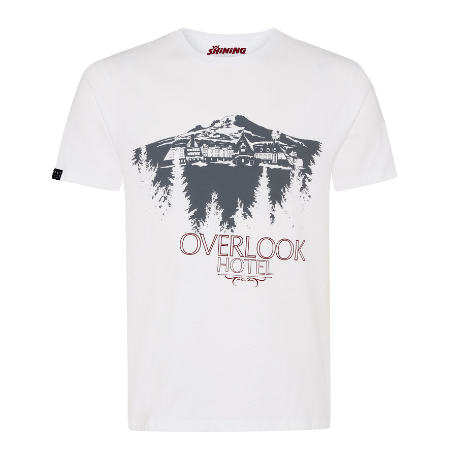 The Shining, White, Overlook Hotel T-shirt, with Stanley Kubrick Collector's Box