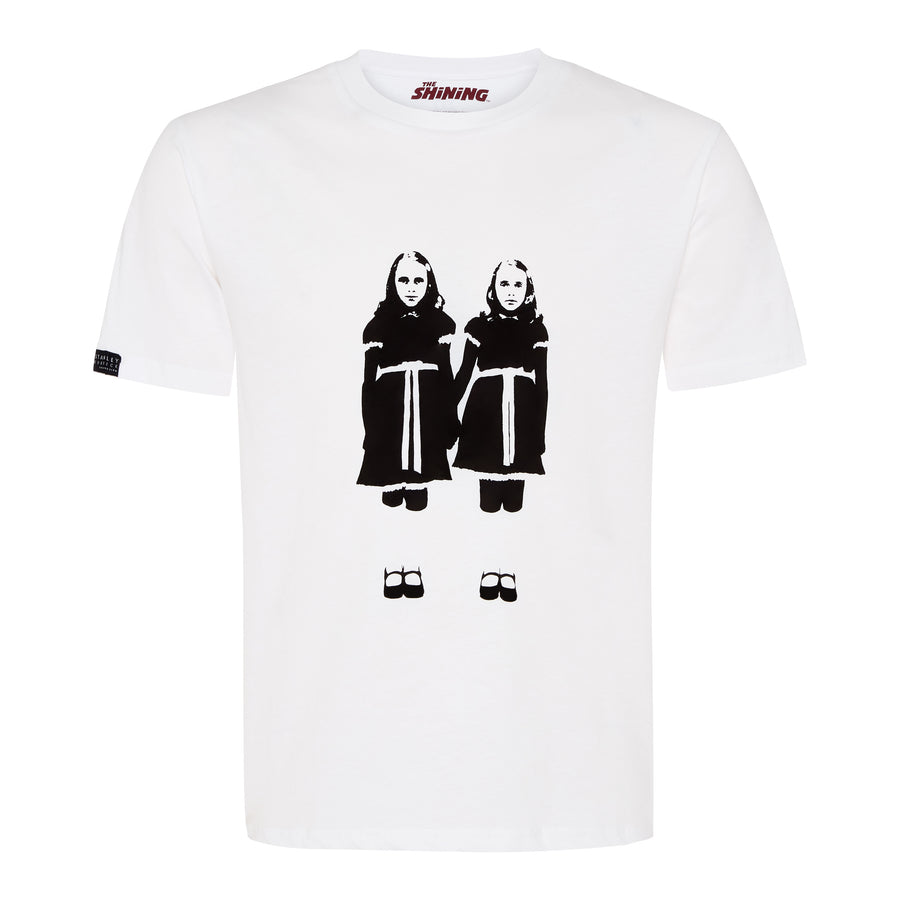 The Shining, White, Brady Twins T-shirt, with Stanley Kubrick Collector's Box