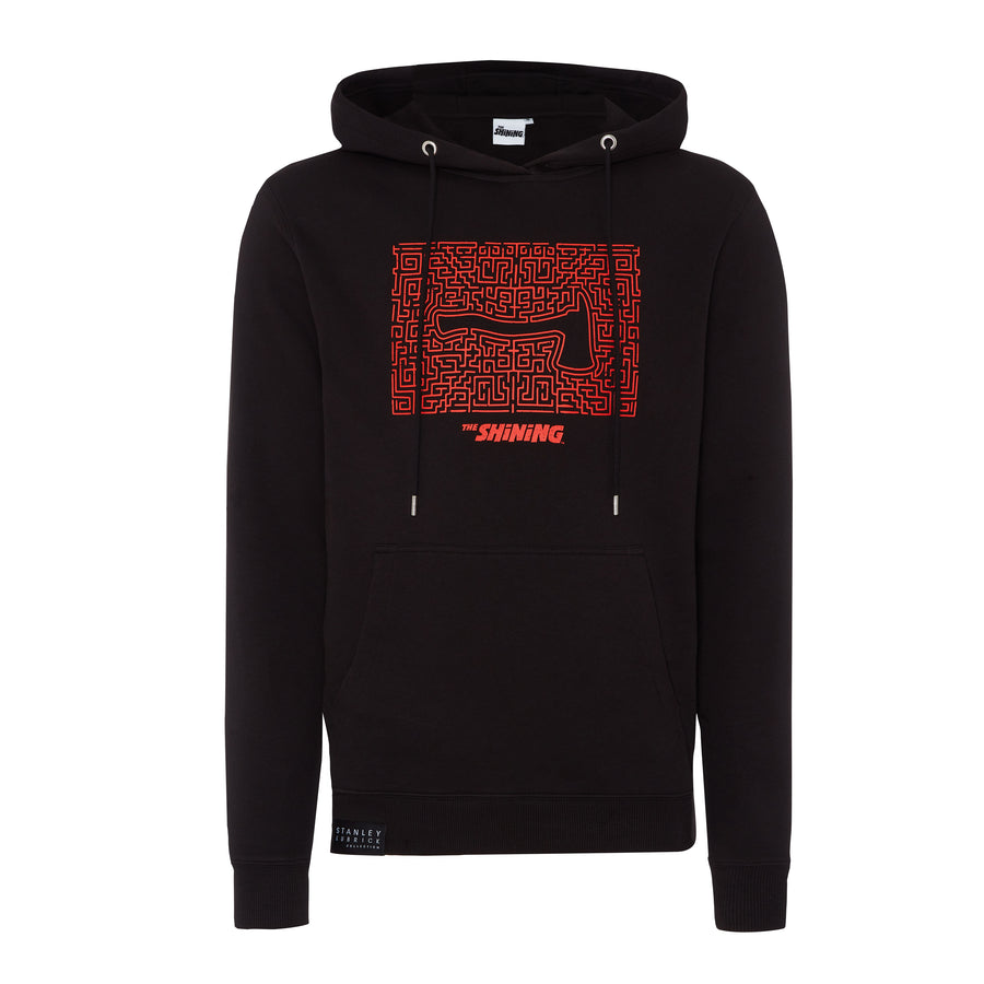 The Shining, Black Maze Hoodie, with Stanley Kubrick Collector's Box