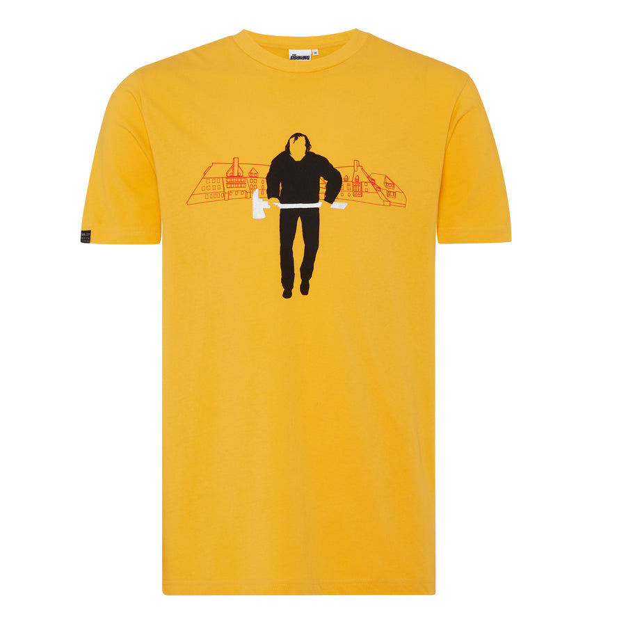 The Shining, Yellow Jack with the Axe T-shirt, with Stanley Kubrick Collector's Box