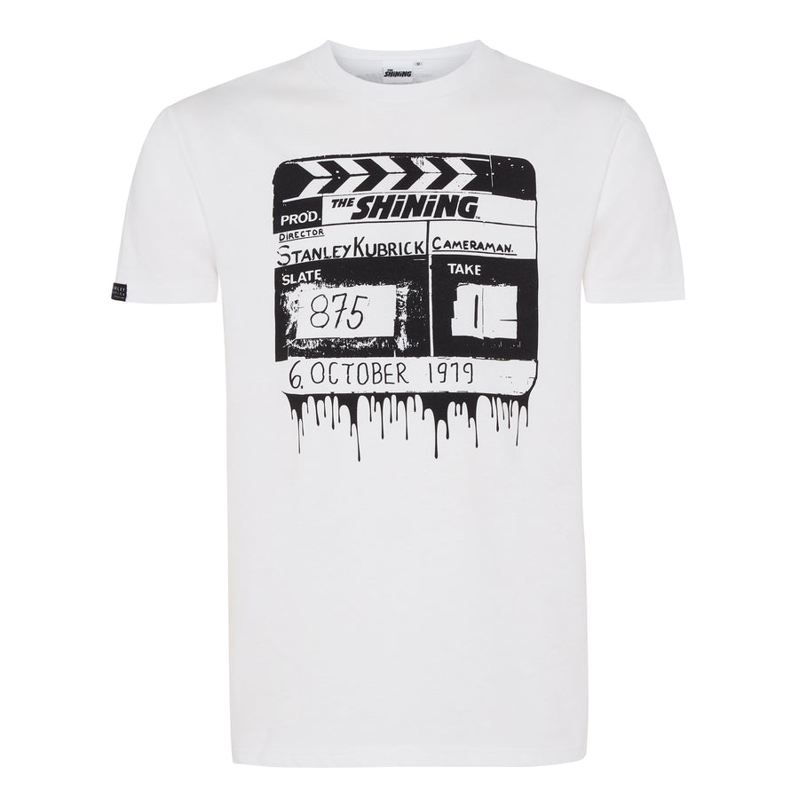 The Shining, White Clapperboard T-shirt, with Stanley Kubrick Collector's Box