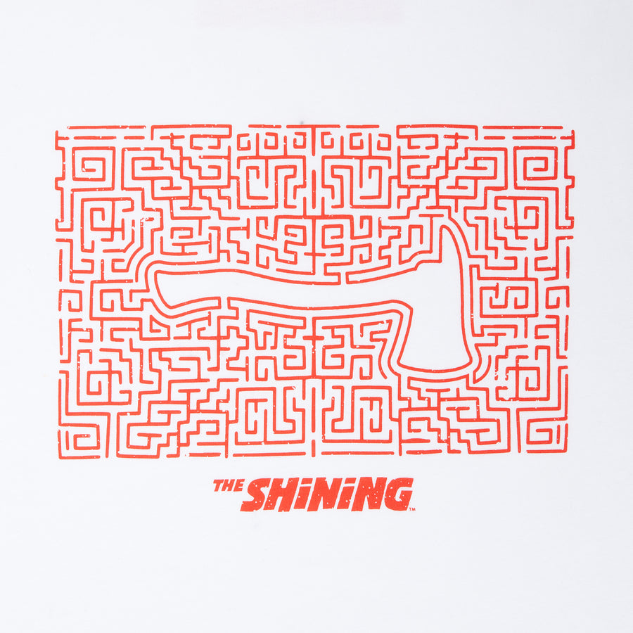 The Shining, White Maze T-shirt, with Stanley Kubrick Collector's Box