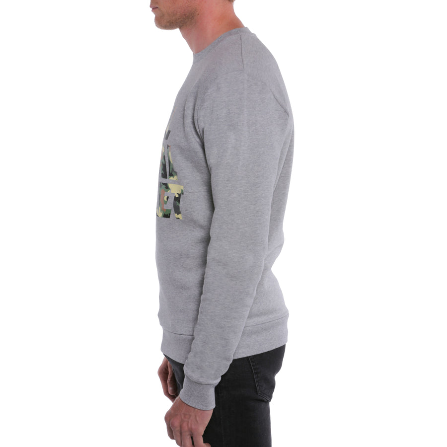 Full Metal Jacket, Grey, Camo Title Men's Sweatshirt, with Stanley Kubrick Collector's Box