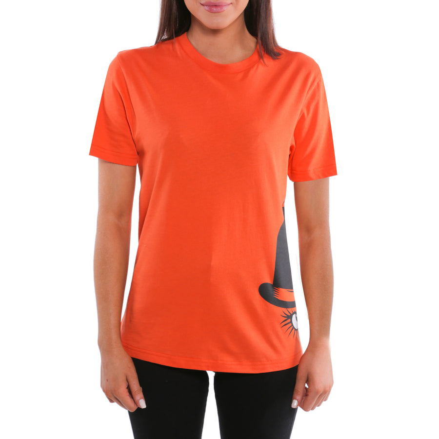 A Clockwork Orange, Orange, Bowler Sideprint Women's T-Shirt, with Stanley Kubrick Collector's Box