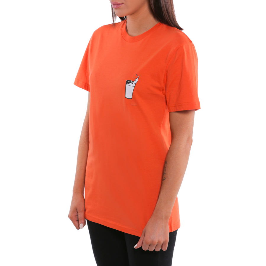 A Clockwork Orange, Orange, Moloko Plus Women's T-Shirt, with Stanley Kubrick Collector's Box