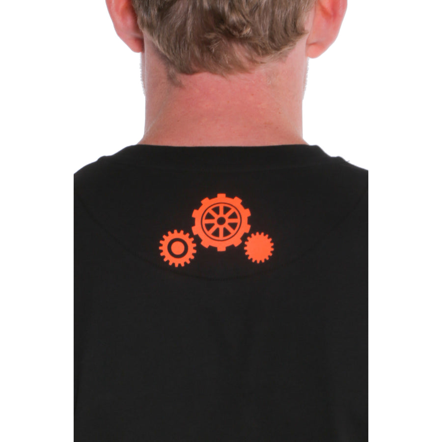 A Clockwork Orange, Black, Bowler Breastprint Men's T-Shirt, with Stanley Kubrick Collector's Box