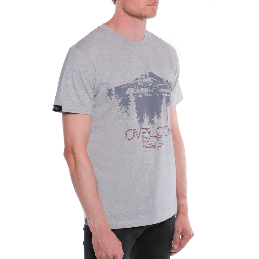 The Shining, Grey, Overlook Hotel Men's T-Shirt, with Stanley Kubrick Collector's Box