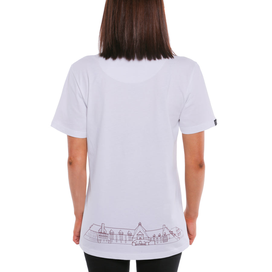 The Shining, White, Overlook Room 237 Women's T-Shirt, with Stanley Kubrick Collector's Box