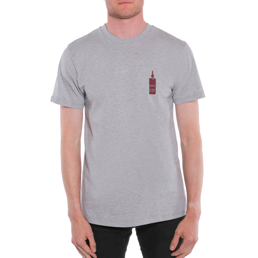 The Shining, Grey, Overlook Room 237 Men's T-Shirt, with Stanley Kubrick Collector's Box