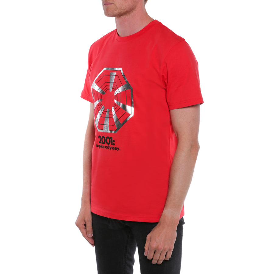 2001: A Space Odyssey, Red, Discovery One Men's T-Shirt, with Stanley Kubrick Collector's Box