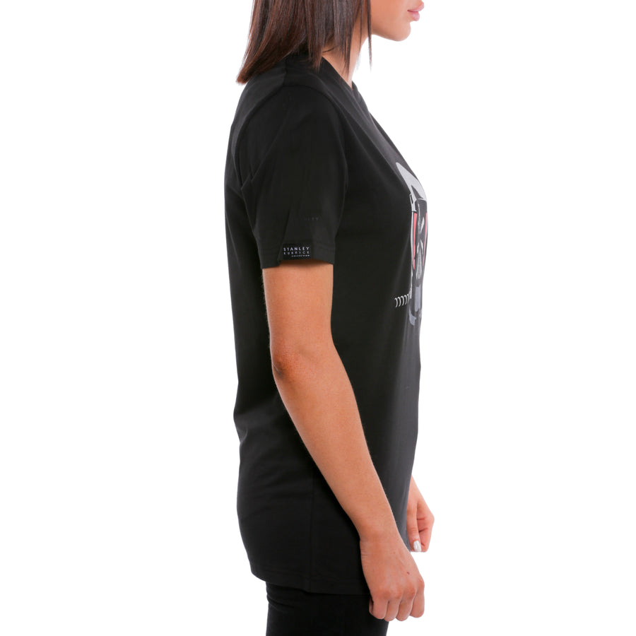 2001: A Space Odyssey, Black, Space Helmet Women's T-Shirt, with Stanley Kubrick Collector's Box