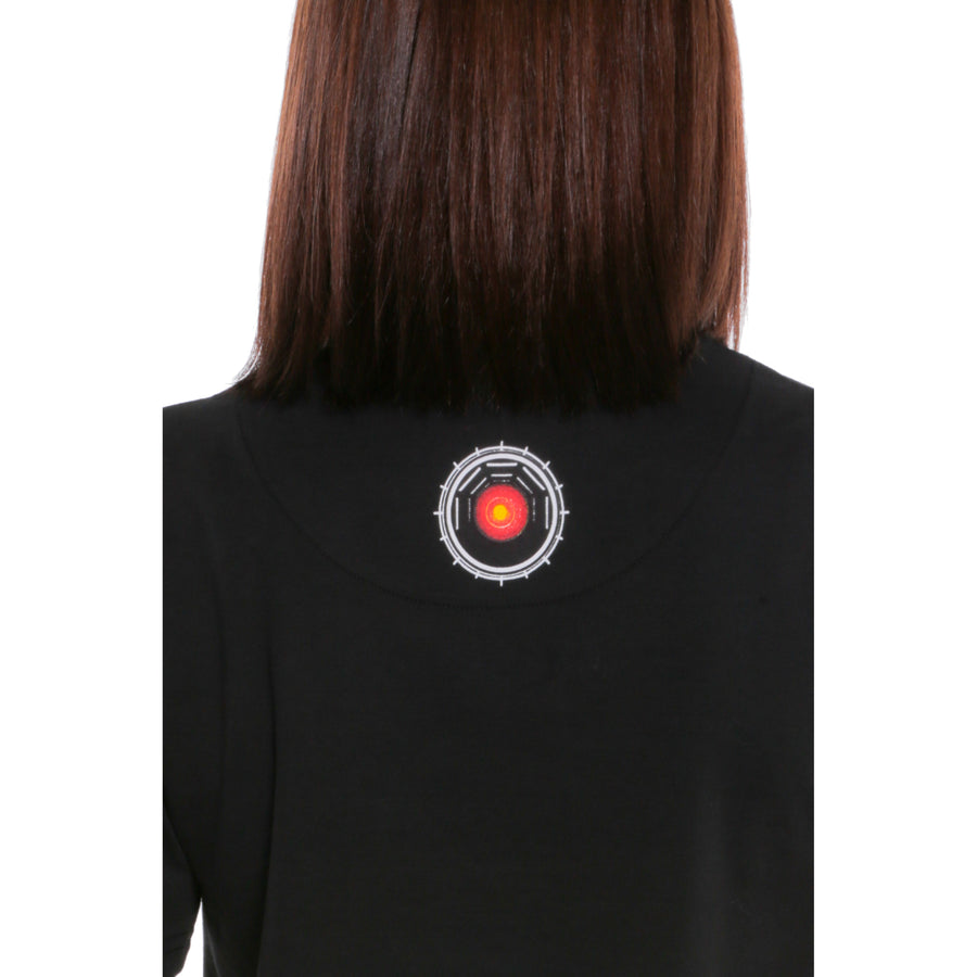 2001: A Space Odyssey, Black, HAL 9000 Women's T-Shirt, with Stanley Kubrick Collector's Box