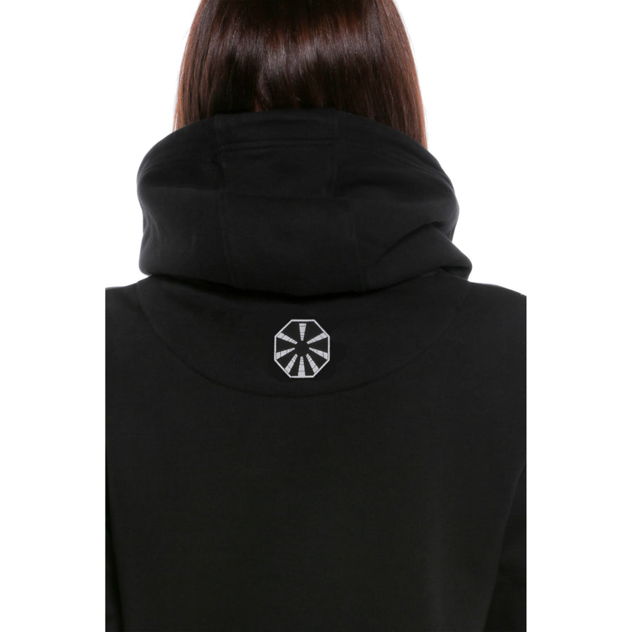 2001: A Space Odyssey, Black, Space Helmet Women's Hoodie, with Stanley Kubrick Collector's Box