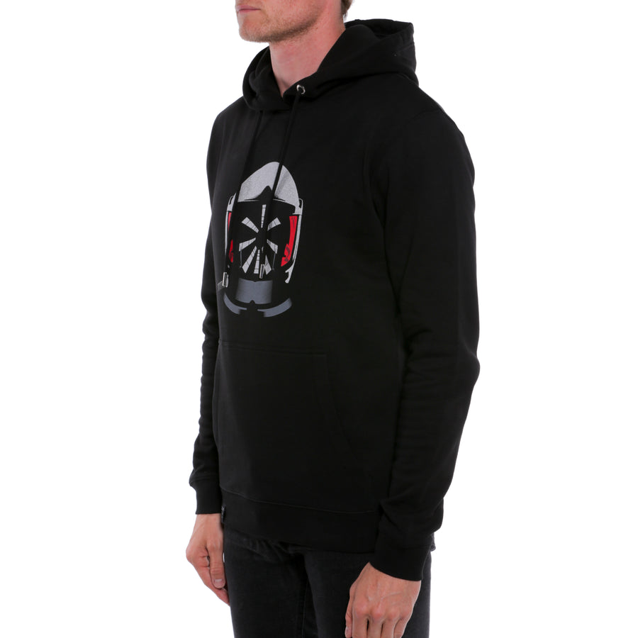 2001: A Space Odyssey, Black, Space Helmet Men's Hoodie, with Stanley Kubrick Collector's Box