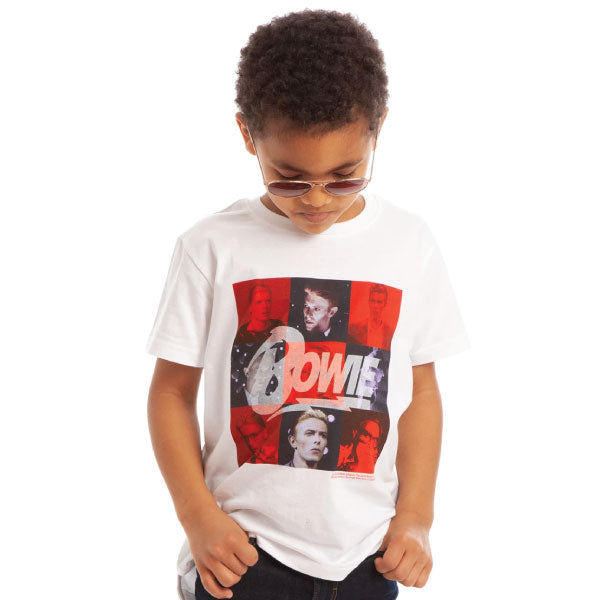 Calling all Bowie Fans... New David Bowie Kids Tees are here!