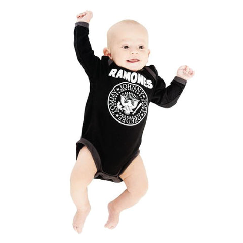 Ramones Babygrow - Long Sleeves