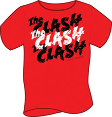 The Clash Kids-T-Shirt - Red