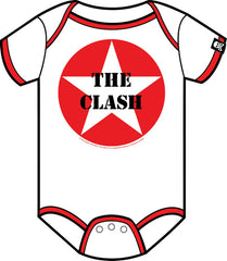 The Clash Babygrow - Logo