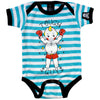 Tough Guy Babygrow by Sourpuss