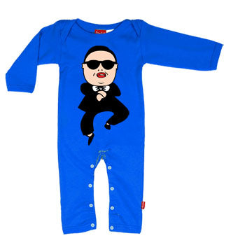Gangnam Style Baby Playsuit