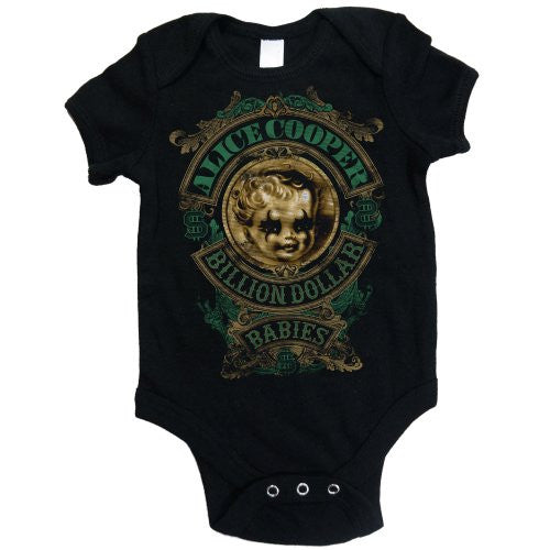 Alice Cooper Babygrow - Billion Dollar Baby