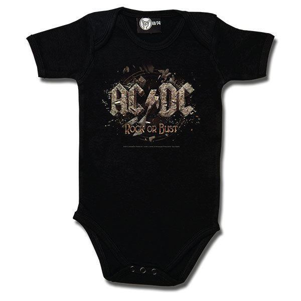 AC/DC Babygrow - 'Rock or Bust'