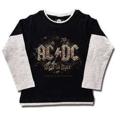 AC/DC Kids Long Sleeved T-Shirt - Rock or Bust