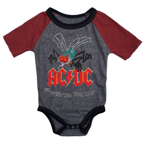 AC/DC Babygrow - Fly On The Wall Tour 1985