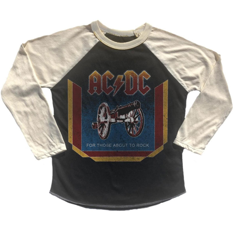 AC/DC Kids T-Shirt - For Those About To Rock