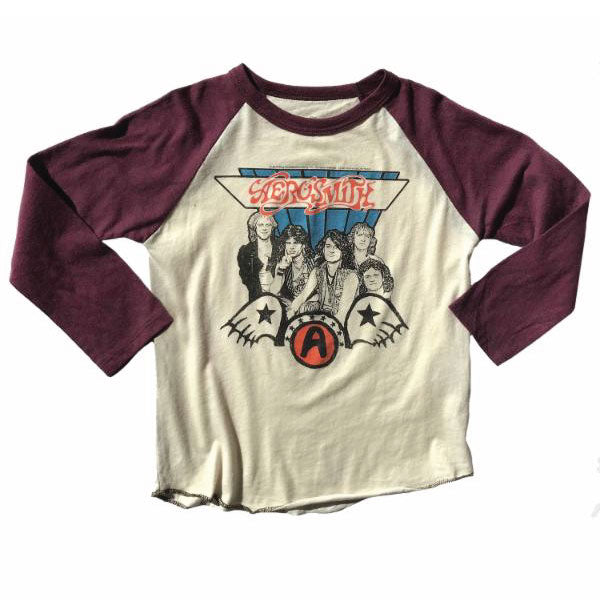 Aerosmith Kids Long Sleeve T-Shirt - Get Your Wings