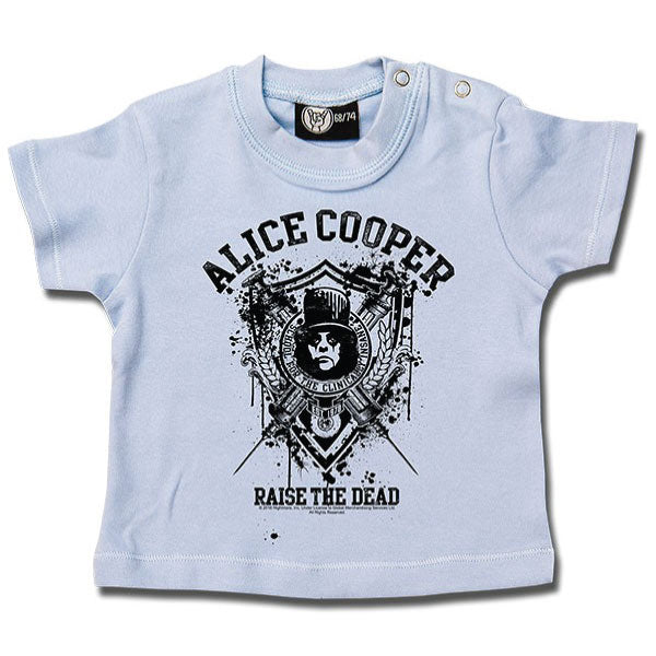 Alice Cooper - Raise The Dead Baby T-Shirt - Blue
