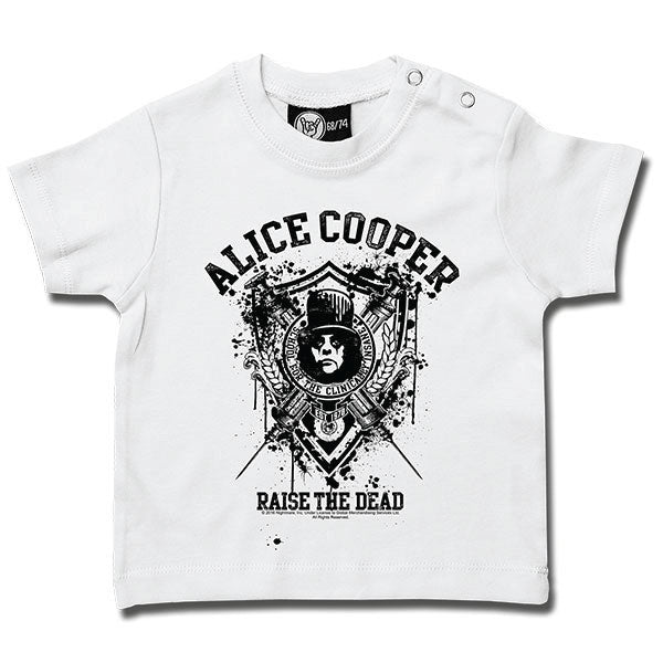 Alice Cooper - Raise The Dead Baby T-Shirt - White