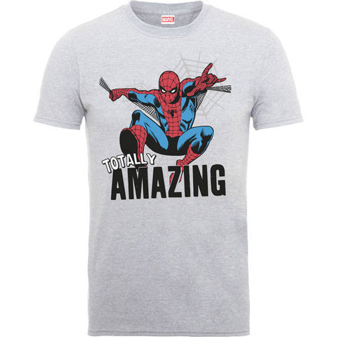 Spiderman Kids T-Shirt - Amazing Spiderman Grey