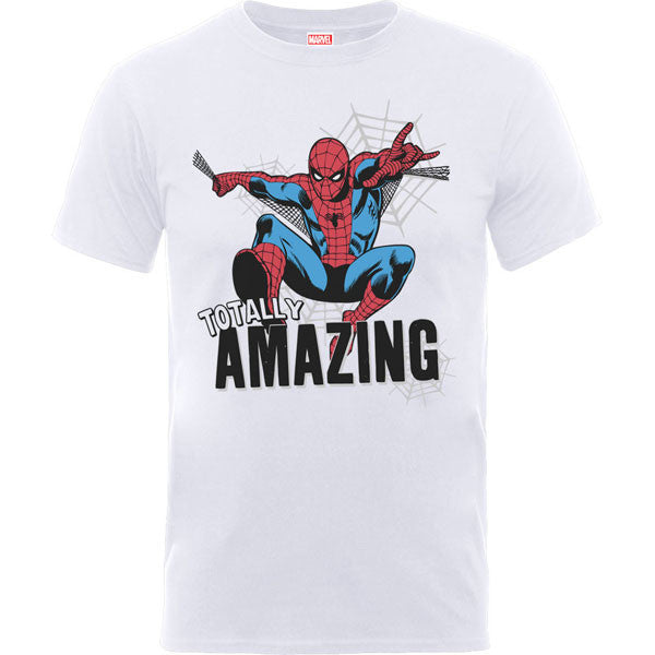Spiderman Kids T-Shirt - Amazing Spiderman White