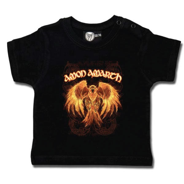 Amon Amarth Baby T-Shirt - Burning Eagle