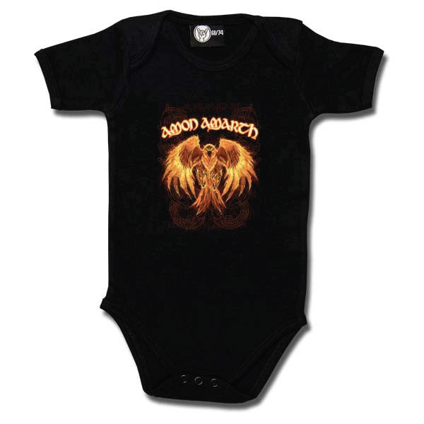 Amon Amarth Babygrow - Burning Eagle