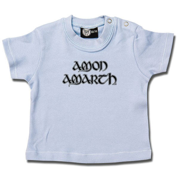 Amon Amarth Blue Baby T-Shirt - Logo