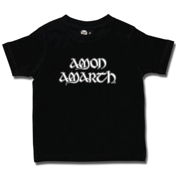 Amon Amarth Kids Black T-Shirt - Logo
