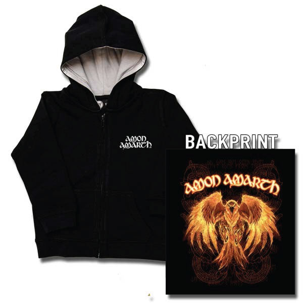 Amon Amarth Kids Hoody - Burning Eagle