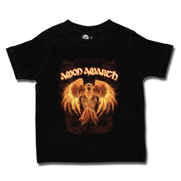 Amon Amarth Kids T-Shirt - Burning Eagle