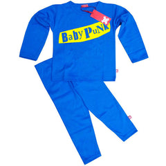 Baby Punk Kids Pyjamas - Blue