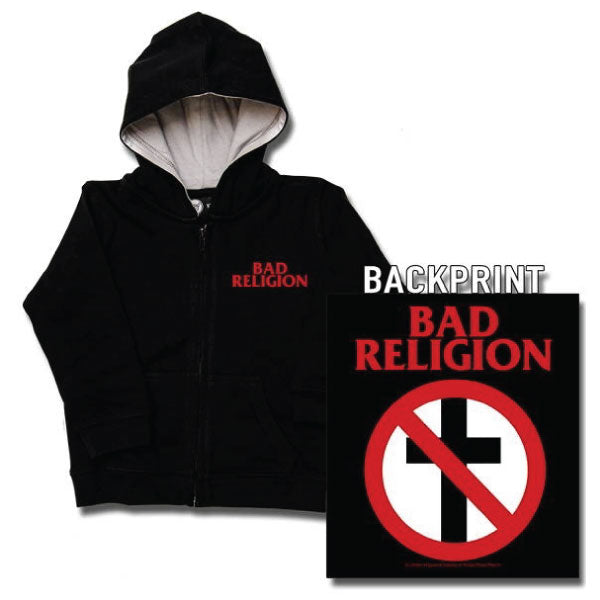 Bad Religion Baby Hoody - Cross Logo