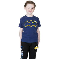 Batman Kids T-Shirt - Yellow Batman Logo