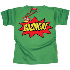 Bazinga Kids T-Shirt by Stardust