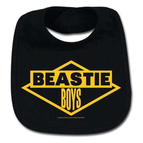 Beastie Boys Baby Bib - Yellow Logo