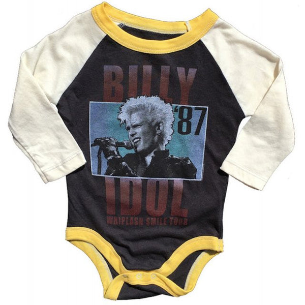 Billy Idol Babygrow - Whiplash Smile Tour '87