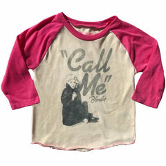 Blondie Girlie T-Shirt - Call Me