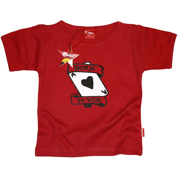 Born To Win Kids T-Shirt by Stardust