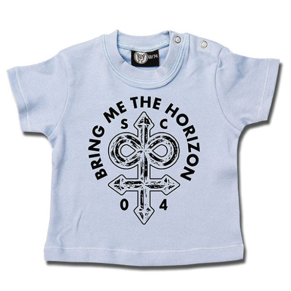Bring Me The Horizon Baby T-Shirt Blue - Infinite Unholy